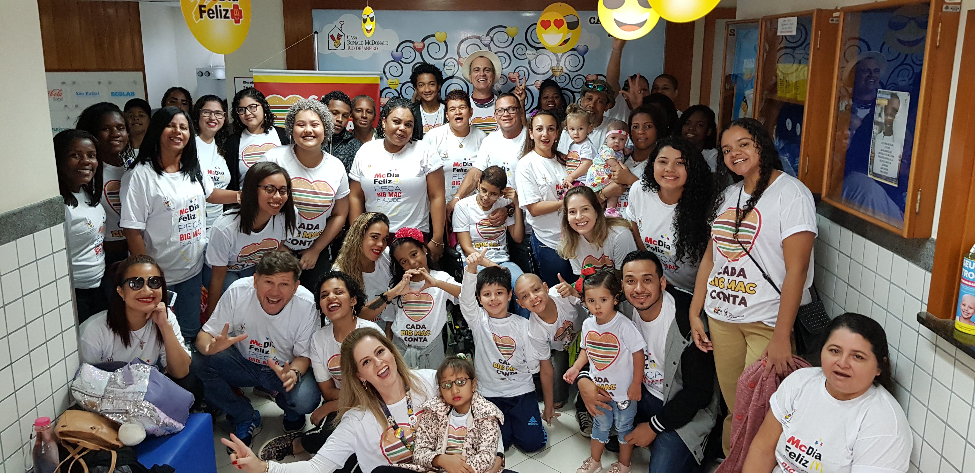 Equipe Casa Ronald McDonald - Rio de Janeiro