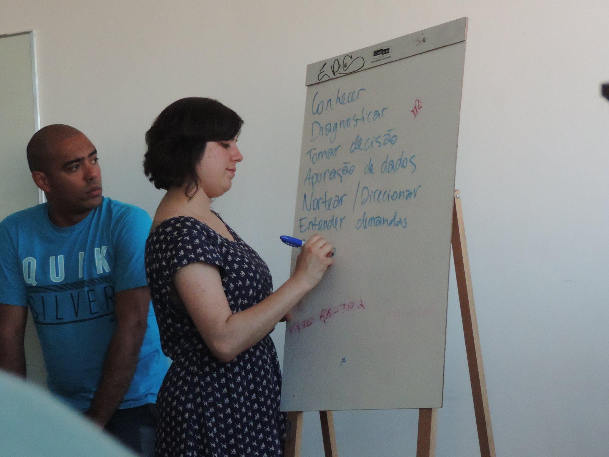 Foto da equipe da ONG Rede Conhecimento Social