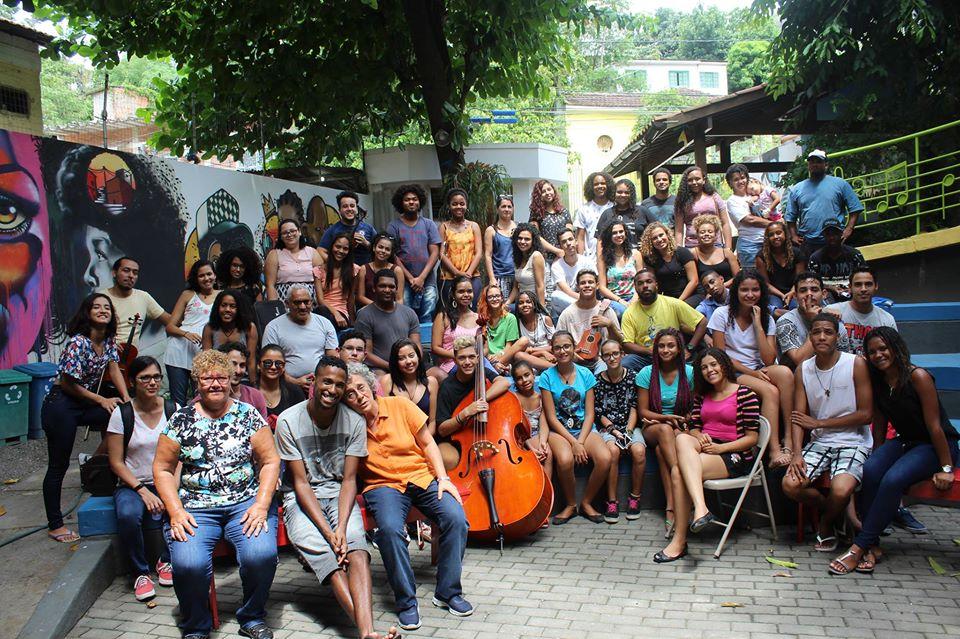 Equipe espaço cultural da grota
