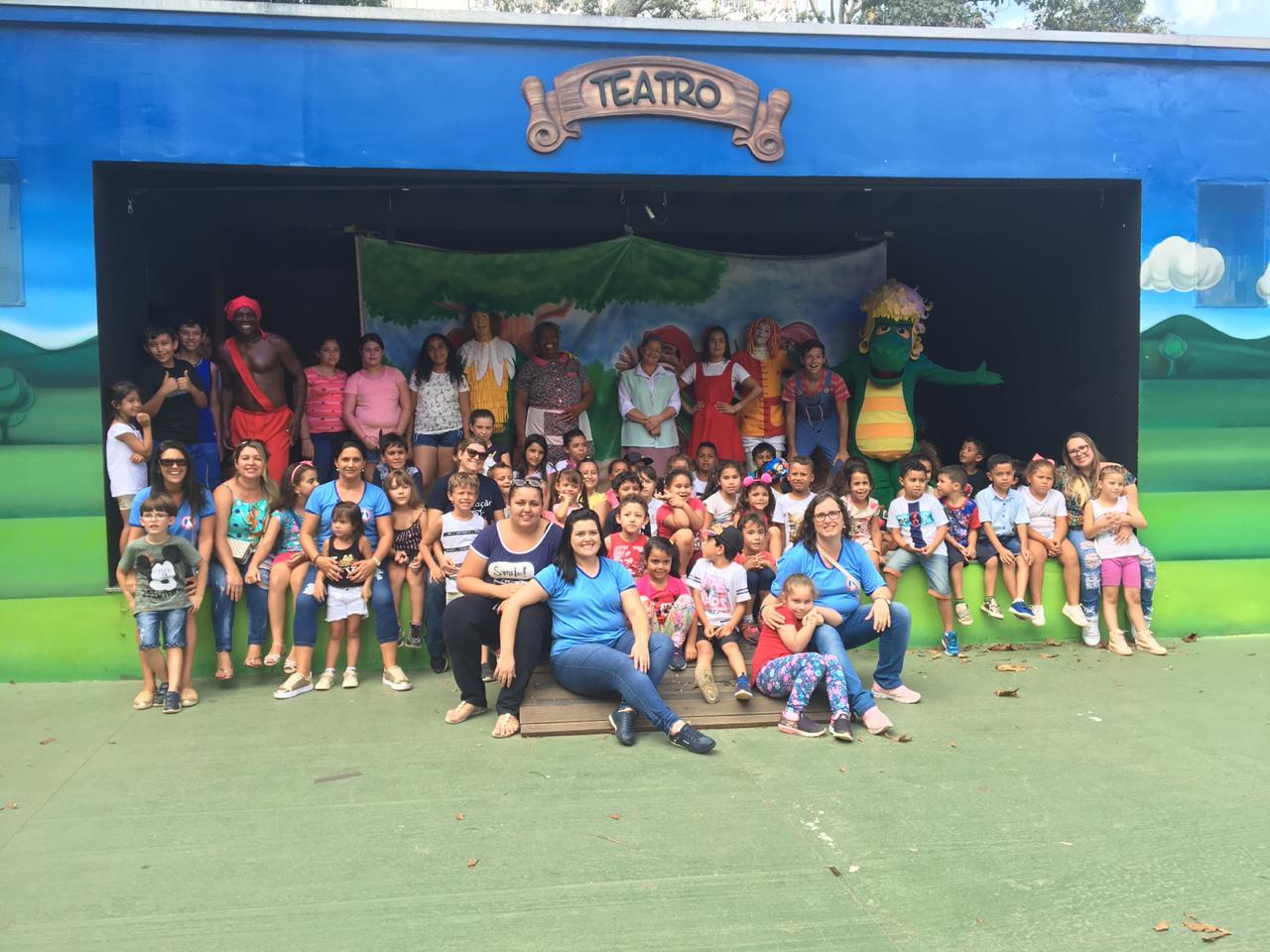 Foto da equipe da ONG Educandário Nossa Senhora Aparecida - Itapira SP