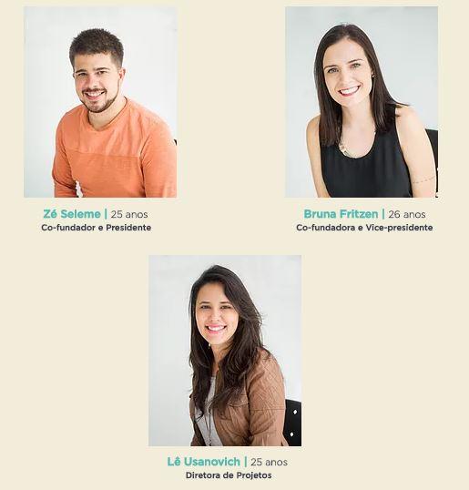 Foto da equipe da ONG Endeleza