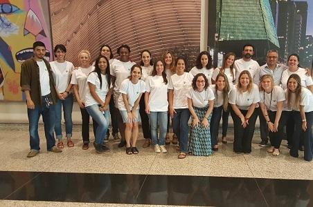 Foto da equipe da ONG Instituto Fazendo Historia