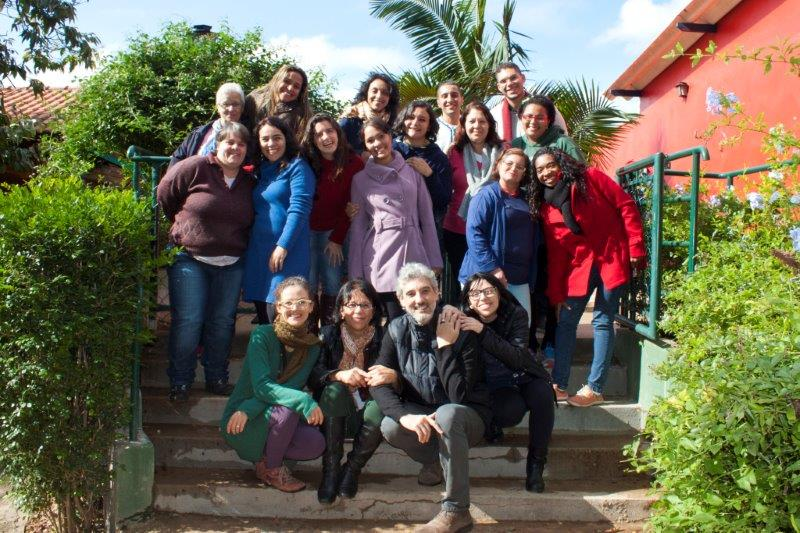Foto da equipe da ONG Fundação Julita