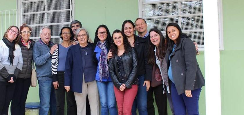 Foto da equipe da ONG Grão da Vida