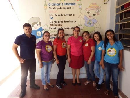 Equipe  Instituto de Apoio à Criança com Câncer