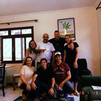 Foto da equipe da ONG SANTA CANNABIS- Associação Brasileira de Cannabis Medicinal