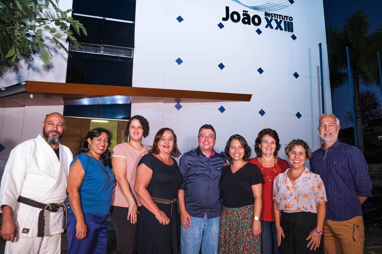 Foto da equipe da ONG Instituto João XXIII