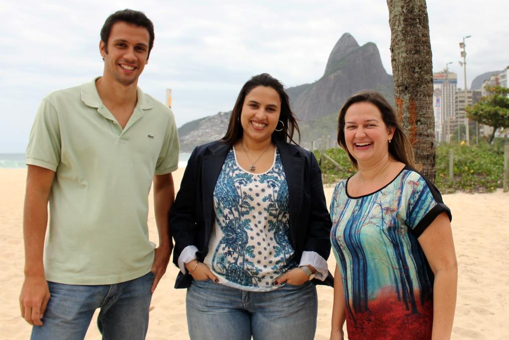 Foto da equipe da ONG Instituto Phi