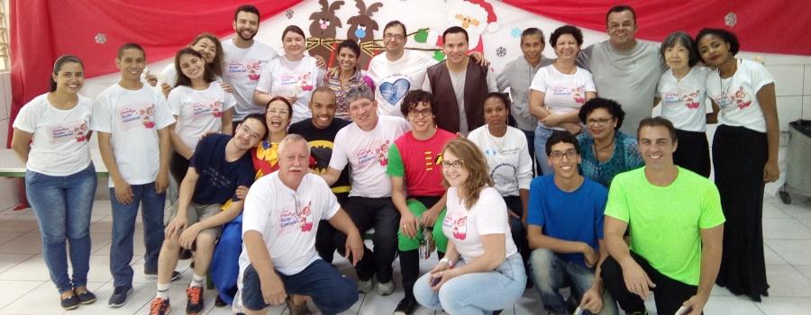 Foto da equipe da ONG Instituto Ação Educação
