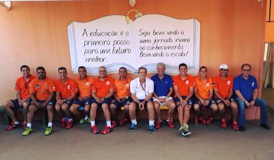 Equipe Instituto Cidadania Através do Esporte