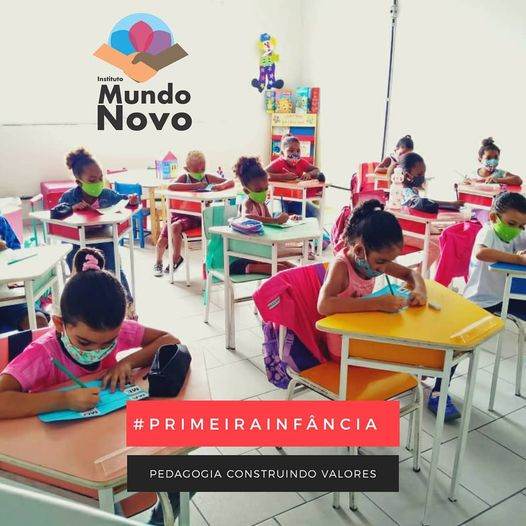 Instituto Mundo Novo transformando vidas!