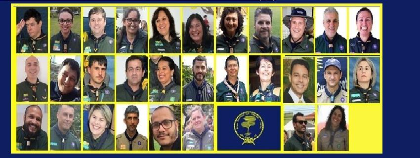 Foto da equipe da ONG Grupo Escoteiro Ipê Amarelo