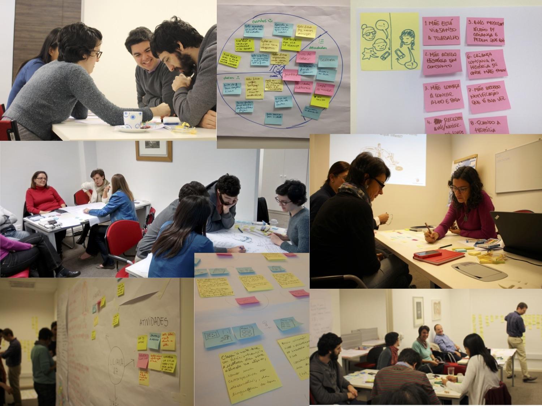 Foto da equipe da ONG Laboratório de Educacão