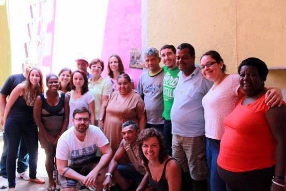 Foto da equipe da ONG OCAS