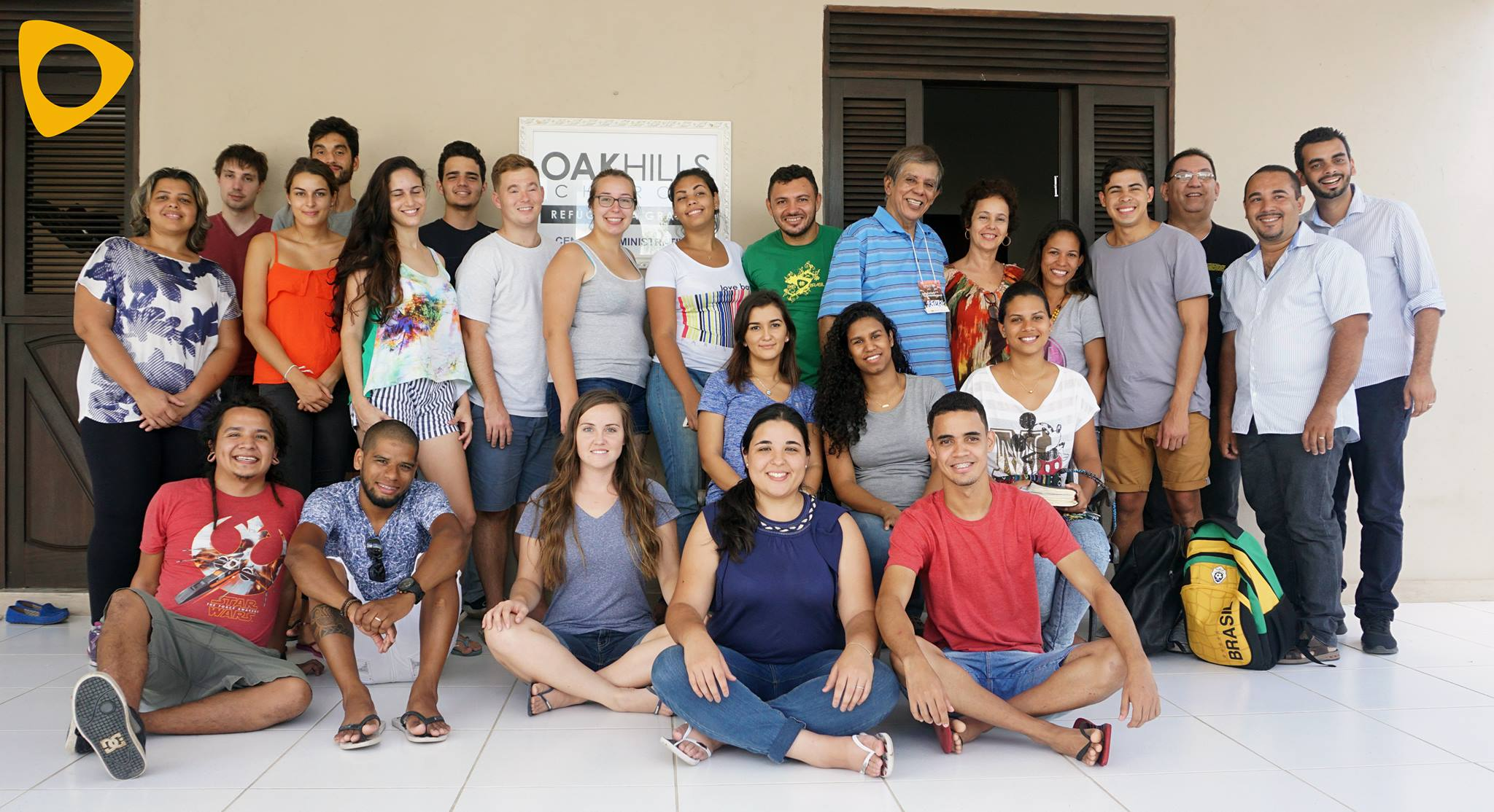 Foto da equipe da ONG pais brasil