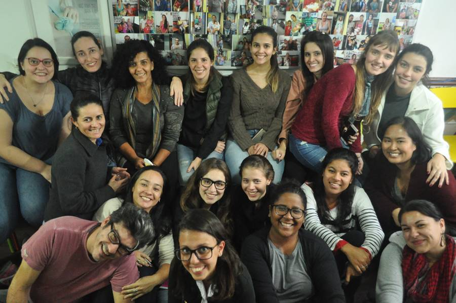 Foto da equipe da ONG Instituto C