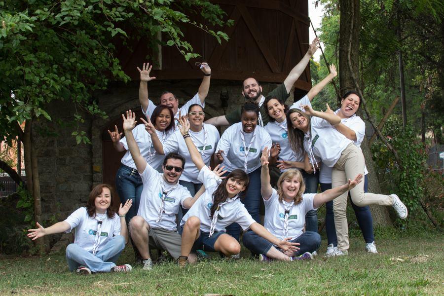 Foto da equipe da ONG União dos Escoteiros do Brasil  -  Região São Paulo