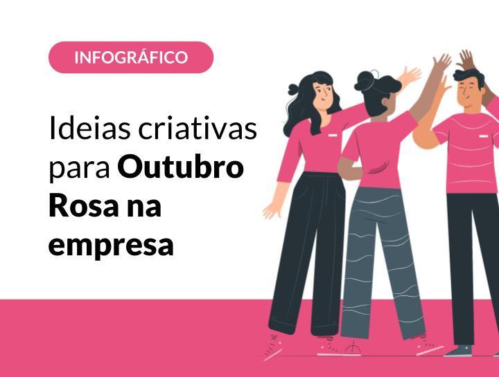 Ideias criativas para Outubro Rosa na empresa