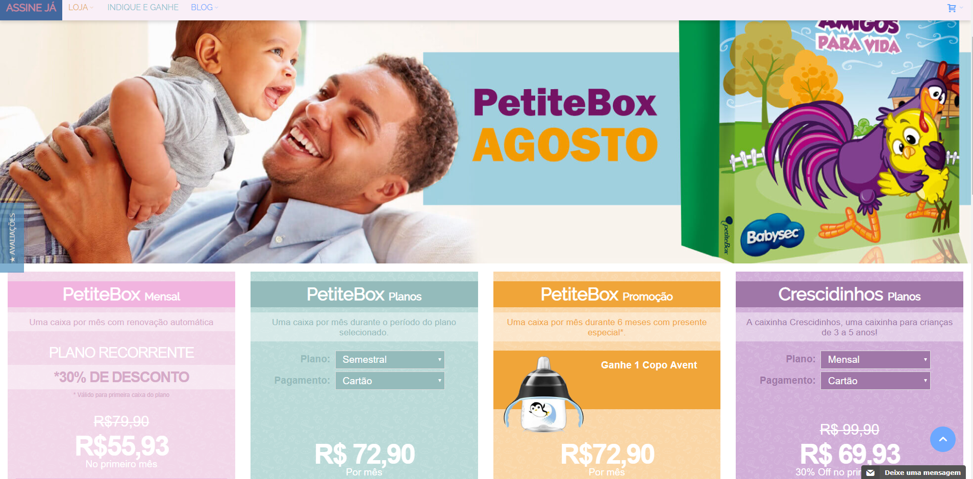 Conheça a PetiteBox!