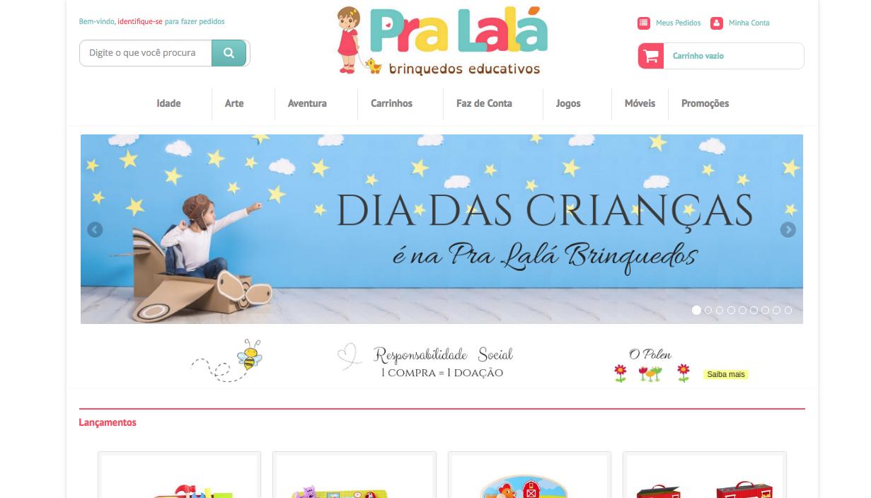 Conheça a Pra Lalá Brinquedos!