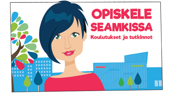 Lataa Opiskele SeAMKissa -esite ja tutustu SeAMKin koulutuksiin vuonna 2017.