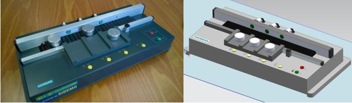 Testausta virtuaalisen 3D-mallin avulla