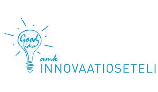 AMK Innovaatiosetelin tekstilogo.