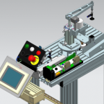 SeAMK Digital Factory käsittelyaseman havainnekuva