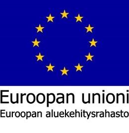 Euroopan unioni Euroopan aluekehitysrahaston logo