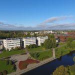Ilmakuvaa Seinäjoen kampusrannasta