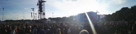 Rock im Park (Broilers playing)