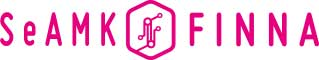 Kirjaston verkkopalvelun SeAMK-Finnan logo