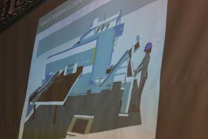 Opiskelijoiden tekemät 3D-video-ohjeet opastavat levytyökeskuksen käyttöön.