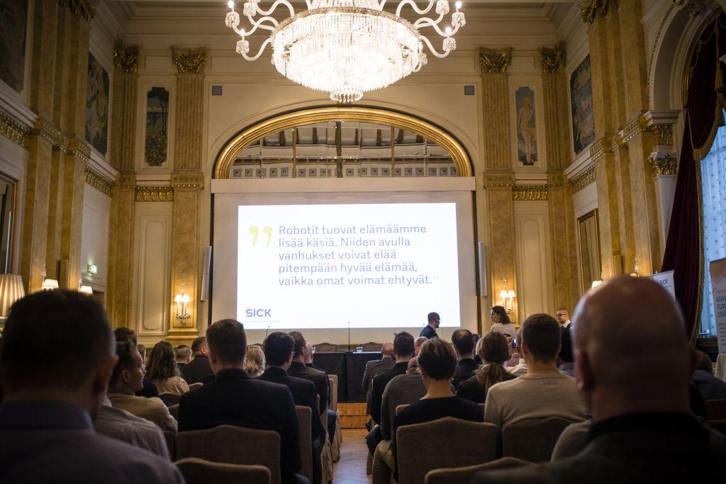 SICK Innovaatiokilpailun päätöstilaisuus järjestettiin keskiviikkona Helsingissä.