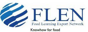 Food Learning Export Network (FLEN) -tekstilogo.