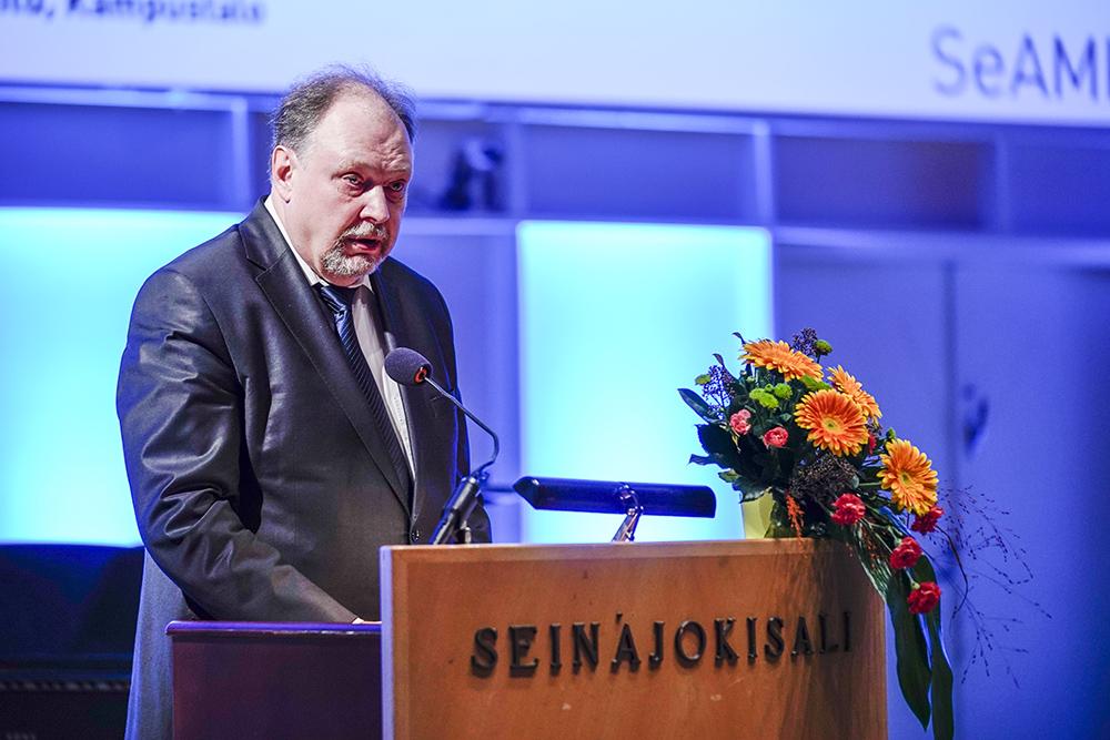 Jussi Halttunen, rehtori-toimitusjohtaja, JAMK