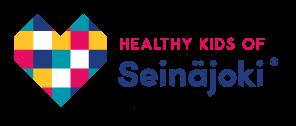 Healthy Kids of Seinäjoki -tekstilogo.