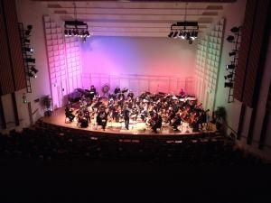 Konsertti Seinäjokisalilla.