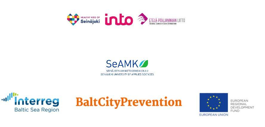 Healty Kids Minihack -tapahtuman järjestäjien logot