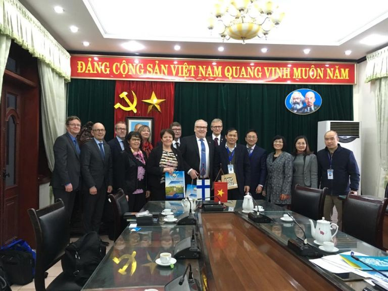 Vietnamin vierailulla esillä mm. työvoimakysymykset, asiantuntijuus ja koulutusosaaminen