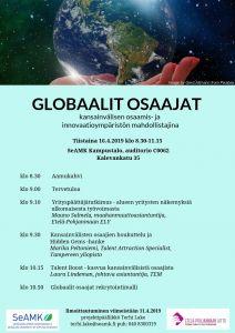 Globaalit osaajat - loppuseminaari
