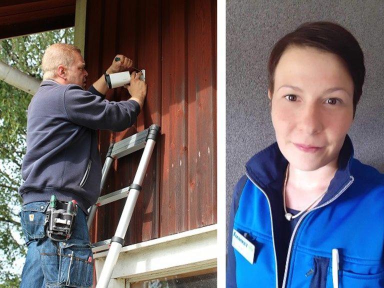 Atte Mänty ja Heidi Salmenautio kokevat pk-yrittäjyyden opinnoista olevan muun muassa esimiestyöhön ja yrityksen pyörittämiseen.