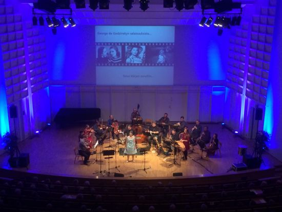 Orkesteri ja solisti Seinäjokisalissa