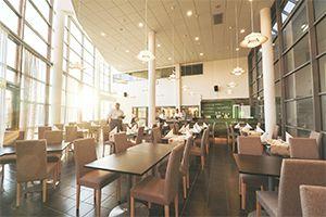 Opetusravintola Prikan ravintolasali.