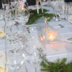 Juomalaseja pöydällä./ Drinking glasses on the table.