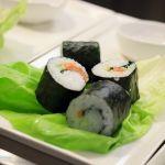 Sushirullia./Sushi rolls.