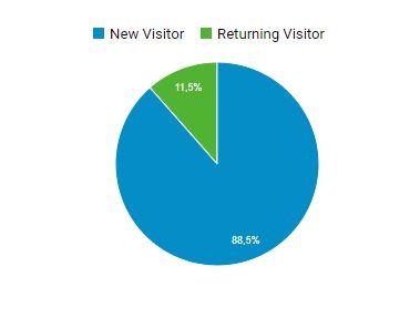 Verkkolehden kävijät ovat suurimmaksi osaksi uusia kävijöitä