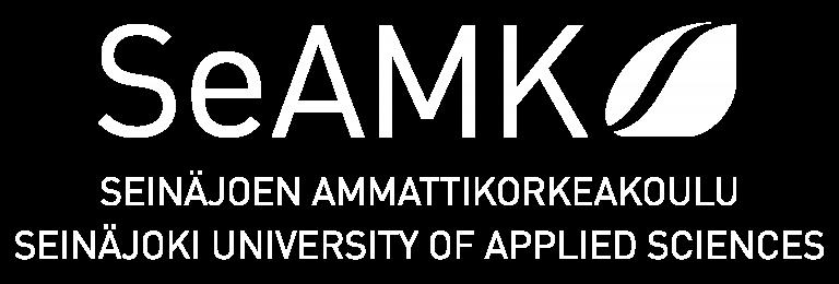 SeAMK logo valkoinen