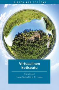Kirjan kansi: Virtuaalinen kotiseutu.