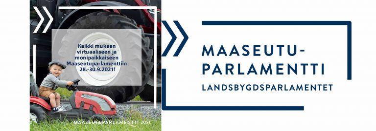 Maaseutuparlamentti 28.-30.9.2021.
